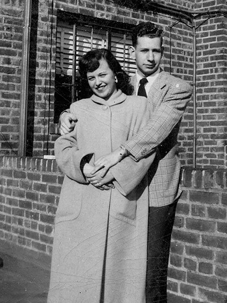 ray and bernice strauber 1949