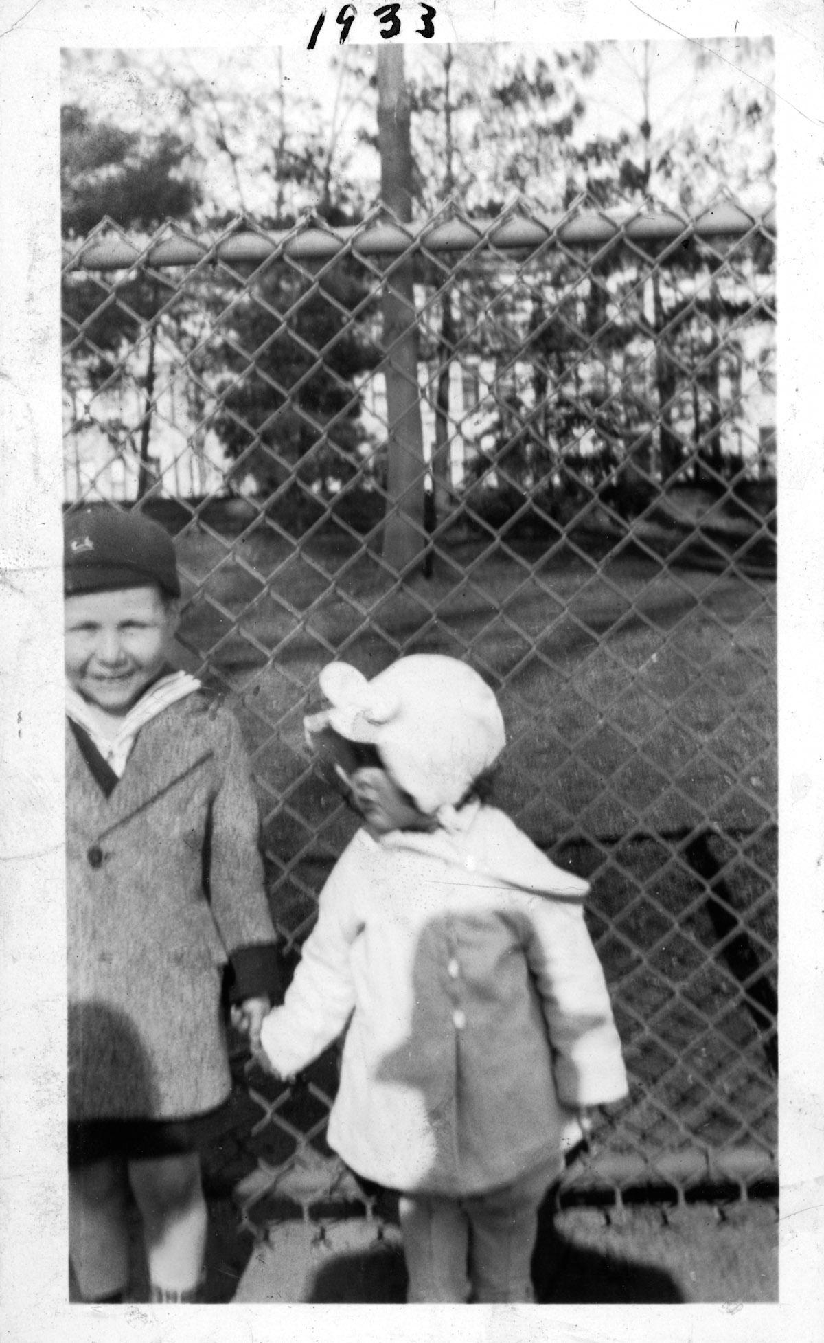 Edmund Strauber and Pearl Schekman, 1933